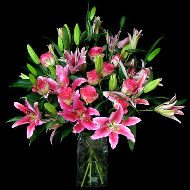 Rose Lily Combo